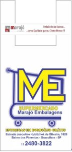 30,000 unidades - Sacolas Plásticas Oxi-Biodegradáveis - Modelo Alça Camiseta - 40x50 - Capacidade 14 Kg - Personalizadas em até 2 cores em 1 lado