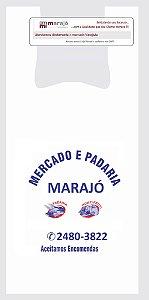 20,000 unidades - Sacolas Plásticas Oxi-biodegradáveis  - Modelo Alça Camiseta - 50x60 - Capacidade 10 Kg - Personalizadas em até 2 cores em 1 lado