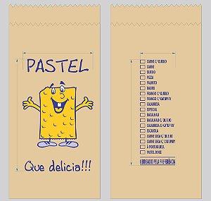 500 unidades de Sacos de Papel - Tamanho 1Kg - 40 g/m² Irani Pardo - Personalizados sabores de pastel