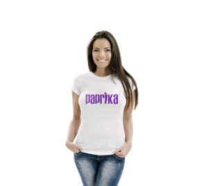 Camiseta Feminina Paprika