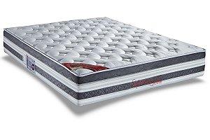 Colchão KING Molas Supreme Plus Visco Pillow Top Pró Saúde Selado (Alt 36)