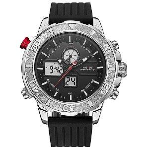 32e0926abd0 Relógio Masculino Weide Anadigi WH-3401 PR-BR - Weide
