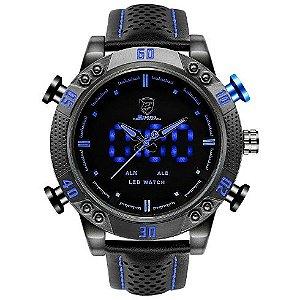 Relógio digital LED shark SH265