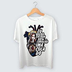 Camiseta - Eu quero entrar no Coração Imaculado