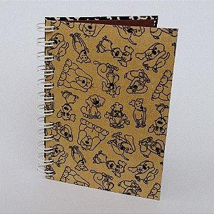 Caderno Pequeno Pautado Vira-Latas - 80 Folhas