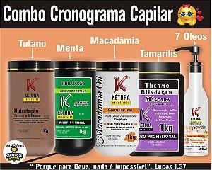 Combo Cronograma Capilar - Nutrição Completa