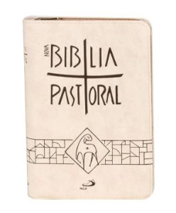 Nova Bíblia Pastoral - Zíper - Creme
