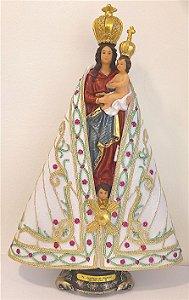 Imagem Nossa Senhora de Nazaré 20 cm