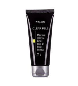 3647 CLEAR PELE – MÁSCARA PLÁSTICA FACIAL PEEL OFF BLACK INTENSO 60g