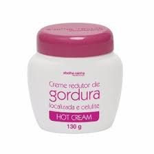 4017  HOT CREAM - CREME REDUTOR DE GORDURA LOCAL E CELULITE 130g