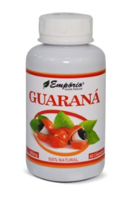 1261 Guaraná 500mg 60 Cápsulas