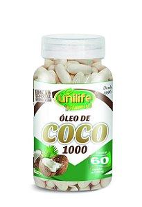 1139 Óleo de Coco 1200mg 60 Cápsulas