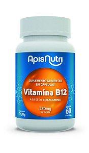1003 Vitamina B12 à base de Cobalamina 280mg 60 Cápsulas