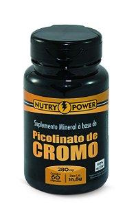 1021 Picolinato De Cromo 280mg 60 Cápsulas