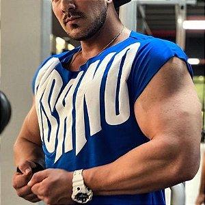 Camiseta Cut Azul