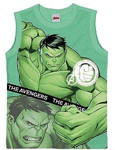 Regata Infantil Menino Hulk Verde - Malwee