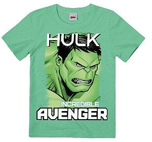 Camiseta Infantil Hulk Verde - Malwee