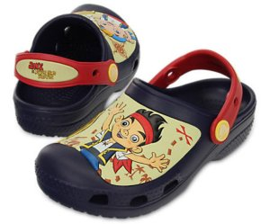 Crocs do Jake e os Piratas