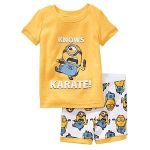 Pijama dos Minions - Amarelo e Azul