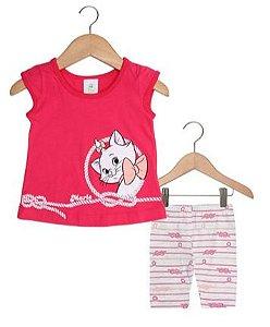 Conjunto de Blusa Marie e Legging - Rosa - Brandili Baby
