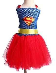 Fantasia Bebê da Supergirl