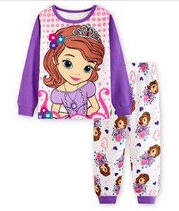 Pijama da Princesa Sofia - Branco e Lilás