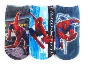 Kit de Meias do Homem Aranha (Opção 2)
