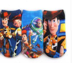 Kit de Meias do Toy Story (Opção 2)