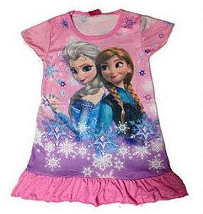 Vestido da Frozen - Rosa