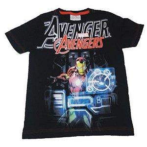 Camiseta do Homem de Ferro- Avengers - Preta
