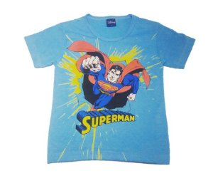 Camiseta do Superman - Azul
