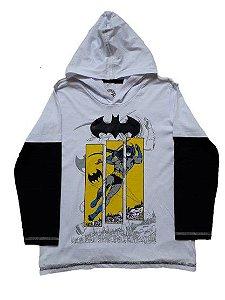 Camiseta do Batman com Capuz