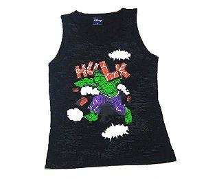 Regata  Incrível Hulk - Preto
