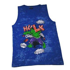 Regata  Incrível Hulk - Azul