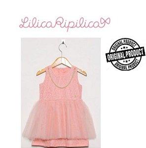 Vestido Bebê Lilica Ripilica - Rosa