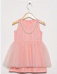 Vestido Bebê Rosa - Lilica Ripilica Baby