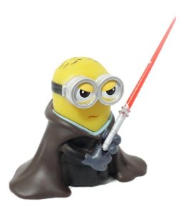 Boneco Minion Luke Skywalker - Star Wars