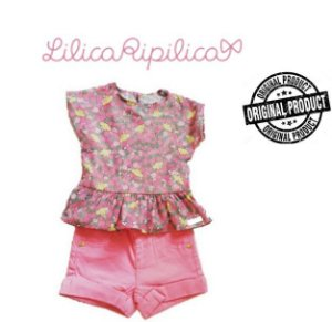 Conjunto Infantil de Blusa e Short da Lilica Ripilica