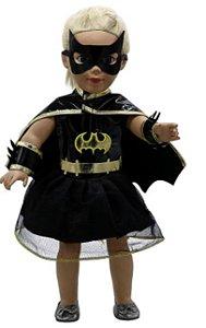 Roupa de Boneca da Batgirl