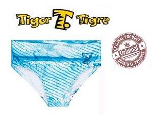 Sunga Infantil Tigor - Azul