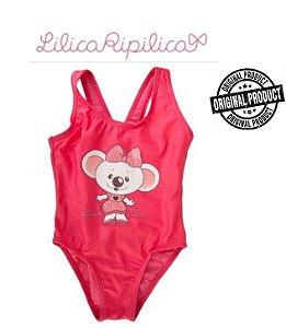 Maiô Bebê da Lilica Ripilica - Rosa