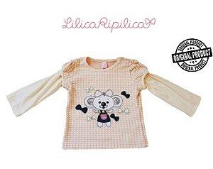 Blusa Infantil Lilica Ripilica - Salmão