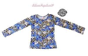 Blusa Infantil Lilica Ripilica - Azul Estampada
