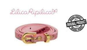 Cinto Infantil Lilica Ripilica - Rosa Oncinha