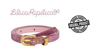 Cinto Infantil Lilica Ripilica - Rosa Glitter