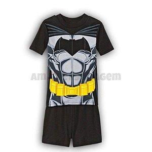 Pijama do Batman-  Uniforme Preto -