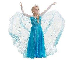 Fantasia Infantil Elsa - Frozen
