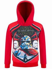 Moleton  Infantil do Star Wars - Stormtrooper - Vermelho