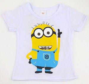 Camiseta dos Minions - Branca