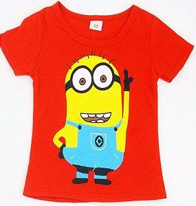 Camiseta dos Minions - Vermelha